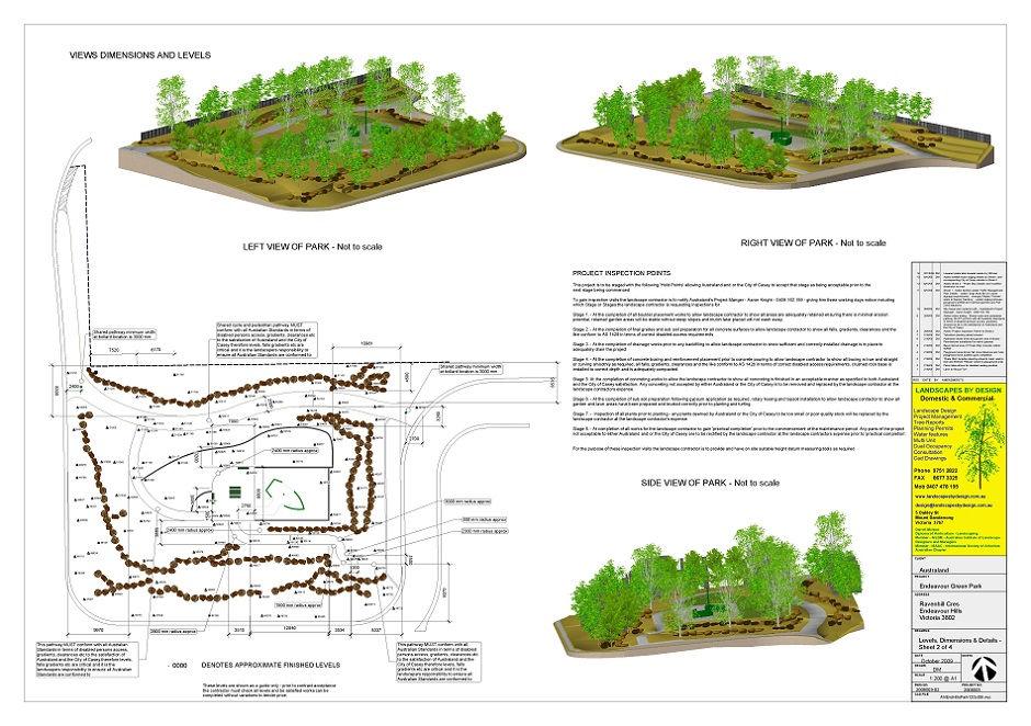 3d Park Landscape
