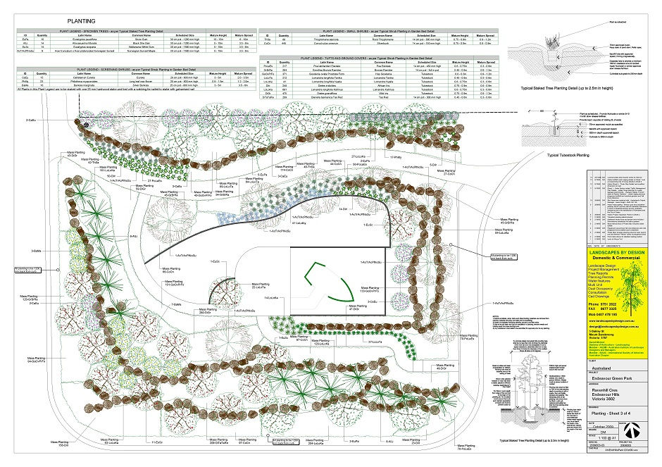 Park Landscape Plan