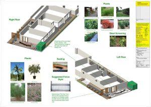 South Yarra Landscape Design 3d View