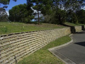 Structural Crib Wall