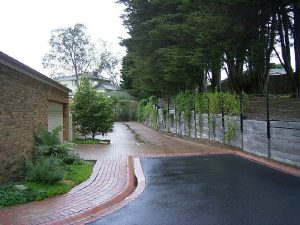 Structural Sleeper Retaining Wall