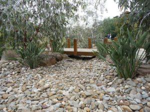 Dry Creek Bed Bridge