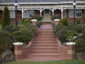 Lysterfield Entance Stairs