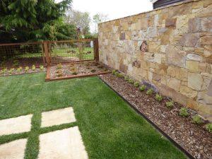 Stone Landscape Wall